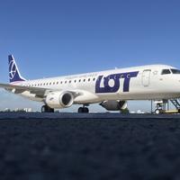 Budapestre fog első alkalommal repülni a LOT E190-es típusú repülőgépe!