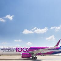 100 gépesre nőtt a Wizz Air flotta!