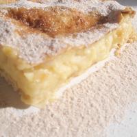 Fahéjas tejes pite (Bougatsa)