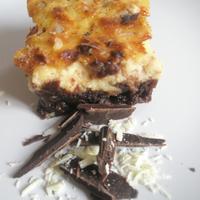 Brownie vegyes csokoládéval