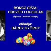 Boncz Géza: Húsvéti locsolás (Április 4., a húsvét ünnepe)