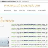 Móka mára: Ericsson programozóverseny