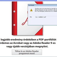 Priorizált Adobe frissítések + PDF érdekesség