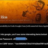 GoogleCode jelszó lenyúlása