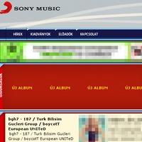 Sony Music - Frissítés