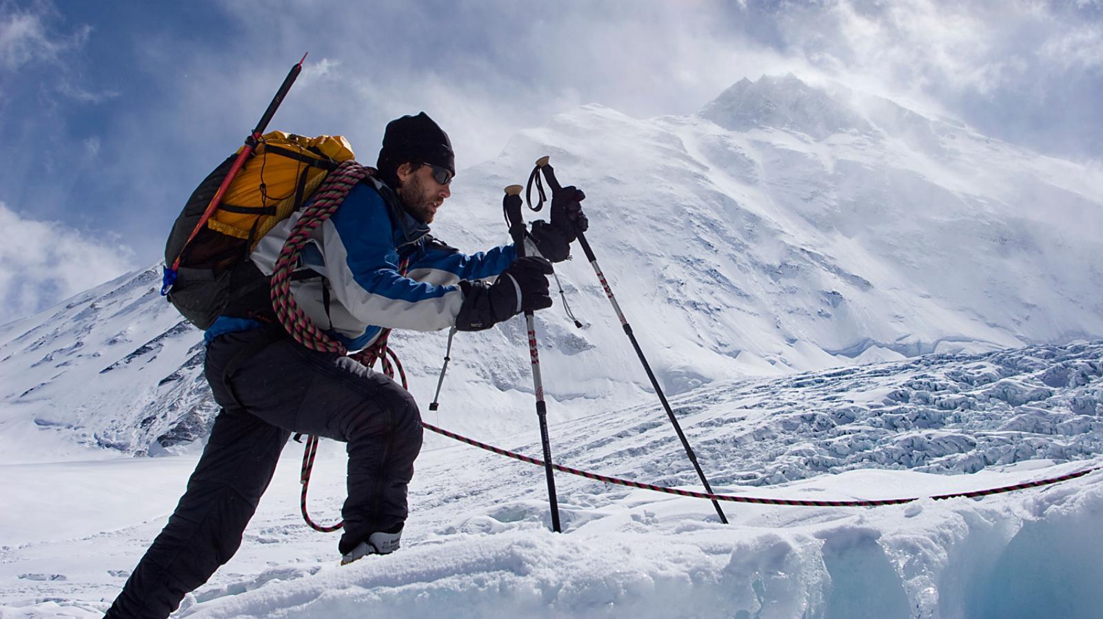 Szürreális teljesítmény - Erik Weihenmayer a föld hét legmagasabb ... 9724fcf0c6