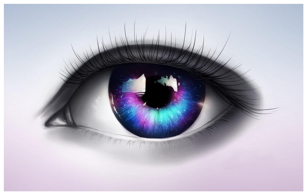a látóvizsgálatok során a pupilla kitágul)