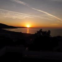Napkelte a Balchiki-öböl felett