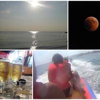 Hatodik nap - holdfogyatkozás és víziparádé