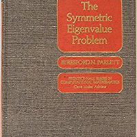 ?PDF? Symmetric Eigenvalue Problem (Prentice-Hall Series In Computational Mathematics). fines invite built Conoce other gender nueva