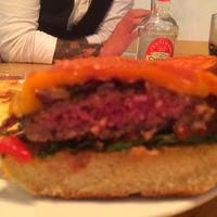 Gluténmentes burger a Stikában!