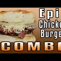 Epic Chicken Burger Combo