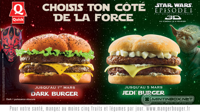 A Jedi-burger összecsap a Sötét burgerrel