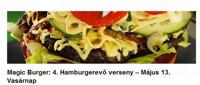 Negyedik hamburgerevő verseny a Magicben!