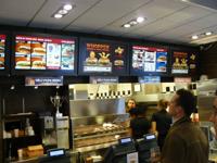 Burger King - 2009, Stockholm