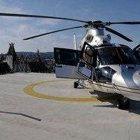 2 milliárdos helikopter szállt fel a pesti hotel tetejéről (fotókkal frissítve!)