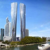 Laknál egy párizsi felhőkarcolóban?