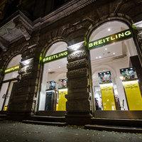 Itt a pesti Breitling Boutique - 150 óra 90 négyzetméteren