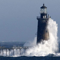 A hónap ajánlata: világítótorony az Atlanti-óceánon 2 millióért!
