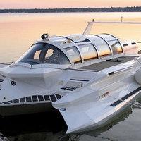 Elkészült a tökéletes vízi jármű: itt a motorcsónak-tengeralattjáró hibrid!