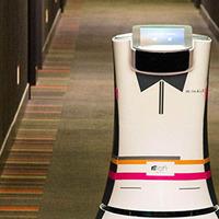 Itt az első robot-szobapincér!