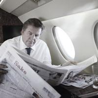 A luxusipar urai: Johann Rupert