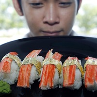 A világ legdrágább szusijáért a Fülöp-szigetekig kell menned
