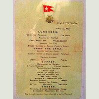 Végigehető a Titanic menüsora egy ír étteremben
