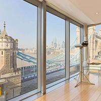 London legjobb ingatlanának árat megduplázta a kilátás Tower Bridge-re