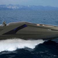 Bizarr Lamborghini jacht 36 hengerrel