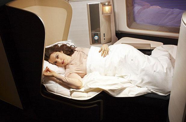 Jaguarral és Rachel Weisz-szel erősít a British Airways első osztálya