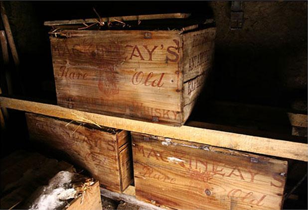 Kihalt whisky az Antarktiszon