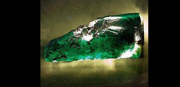 Egy és negyed kilós smaragdot találtak Afrikában