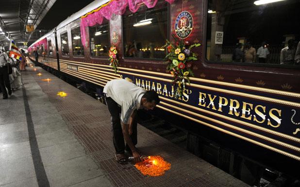 Maharajas Express: India luxusszemüvegen át