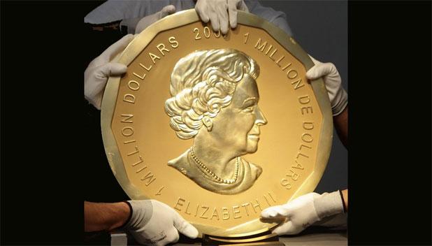 Közel egymilliárdért kelt el a százkilós aranyérme