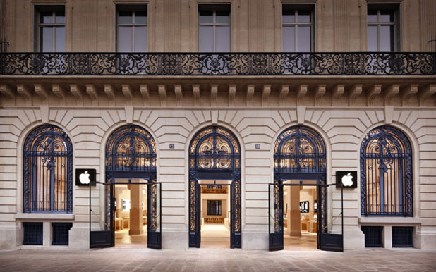 Párizsban a legjobb Apple-t vásárolni