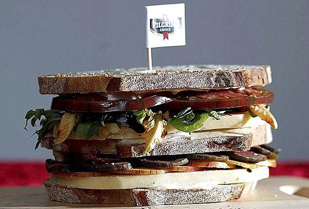 Aranyozott szendvics: fincsi, mi?