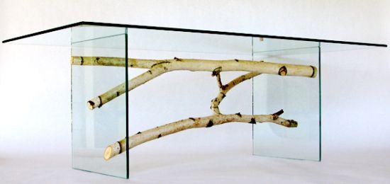 Méregdrága ökodizájn: 3 milliós asztal néhány faágból