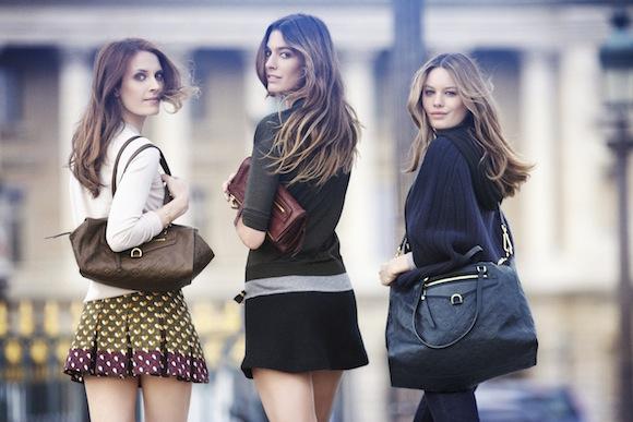 Félelmetesen szép csajok a Louis Vuitton új kampányfotóin