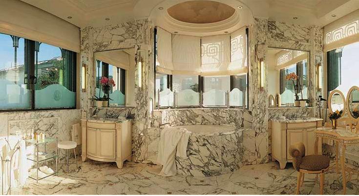 A legszebb szállodai fürdőszoba Párizsban van