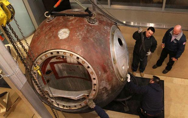 Mit kezdenél egy szovjet űrkapszulával?
