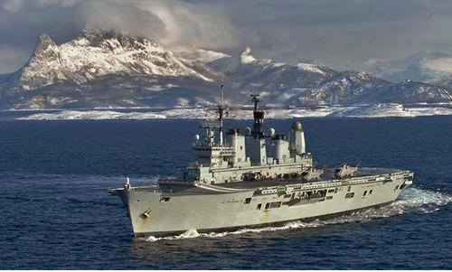 Eladó az Ark Royal, a brit haditengerészet zászlóshajója