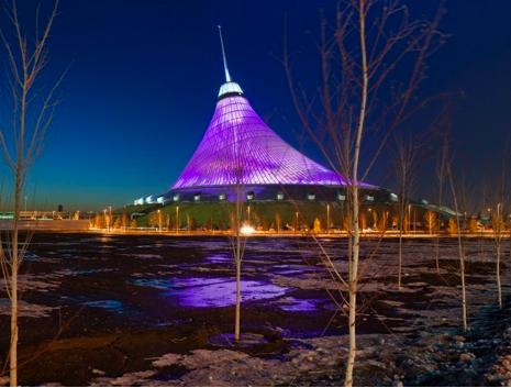 Lenyomja Budapestet Kazahsztán fővárosa?