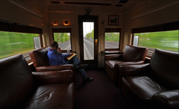 Privát vonatkocsival járd be Amerikát
