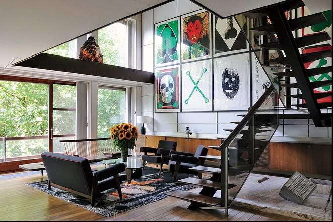 Nem szocreál, modernista: itt lakik a Jil Sander vezető tervezője