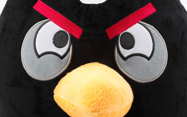 A burzsujok is Angry Birds-öznek