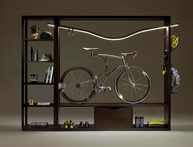 Biciklitárolás stílusosan!