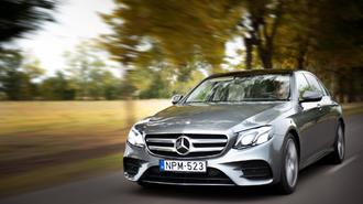 Mercedes-Benz E-osztály - Egy megfontolt milliomos