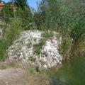 Rómaiak a horgásztó partján
