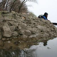 Szigetújfalu: falak a Dunában és a parton